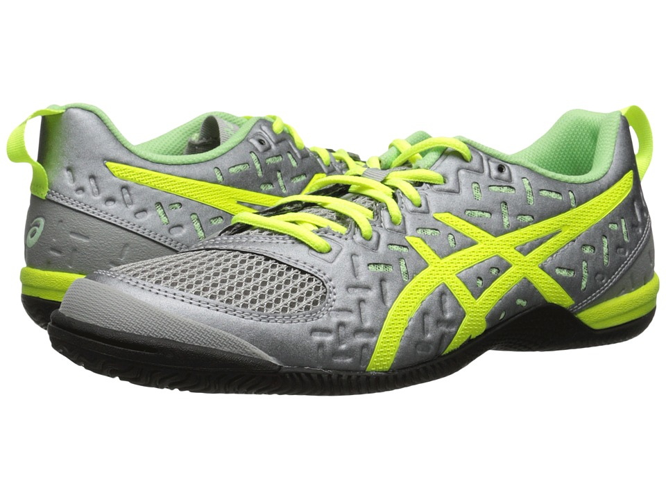 ASICS - GEL-Fortius 2 TR (Light Grey/Flash Yellow/Pistachio) Women's Cross Training Shoes