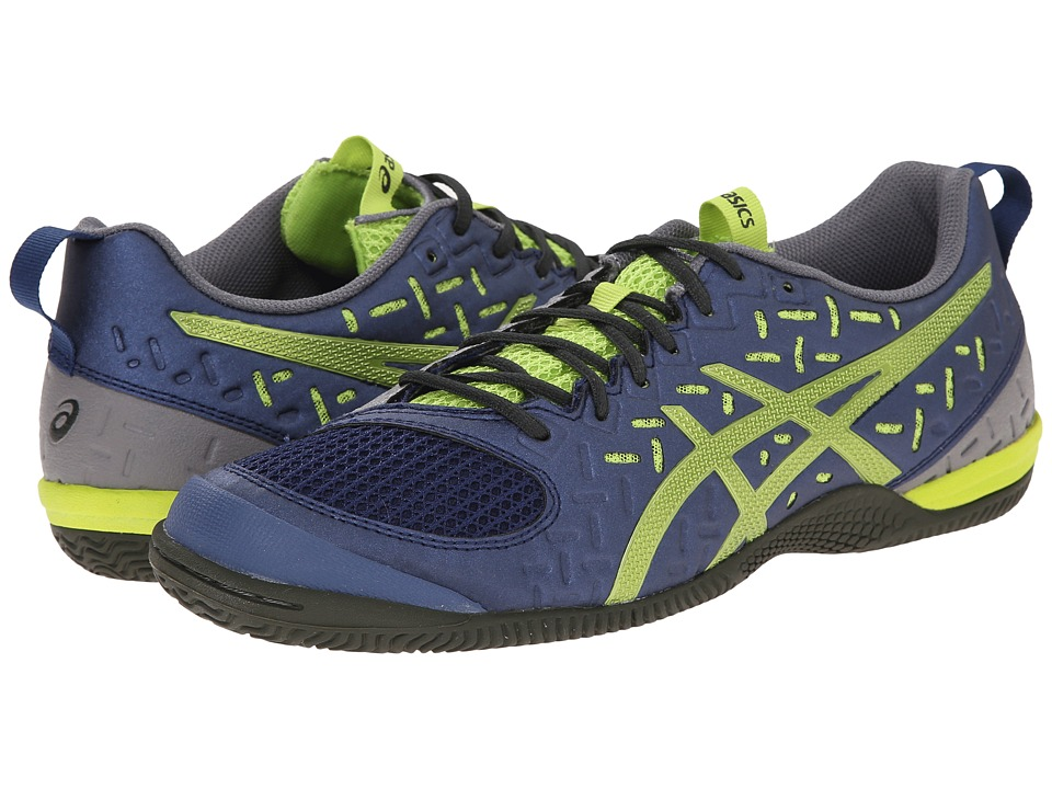 ASICS - GEL-Fortius 2 TR (Indigo Blue/Lime/Taupe) Men's Running Shoes
