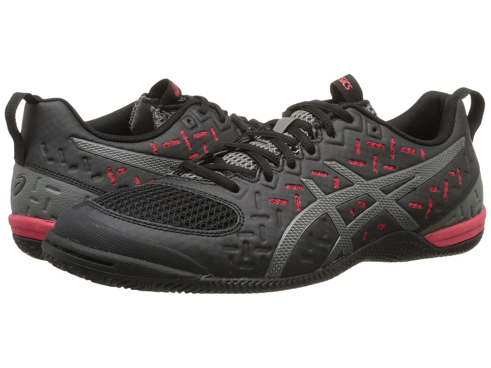 ASICS - GEL-Fortius 2 TR (Black/Gunmetal/Fiery Red) Men's Running Shoes