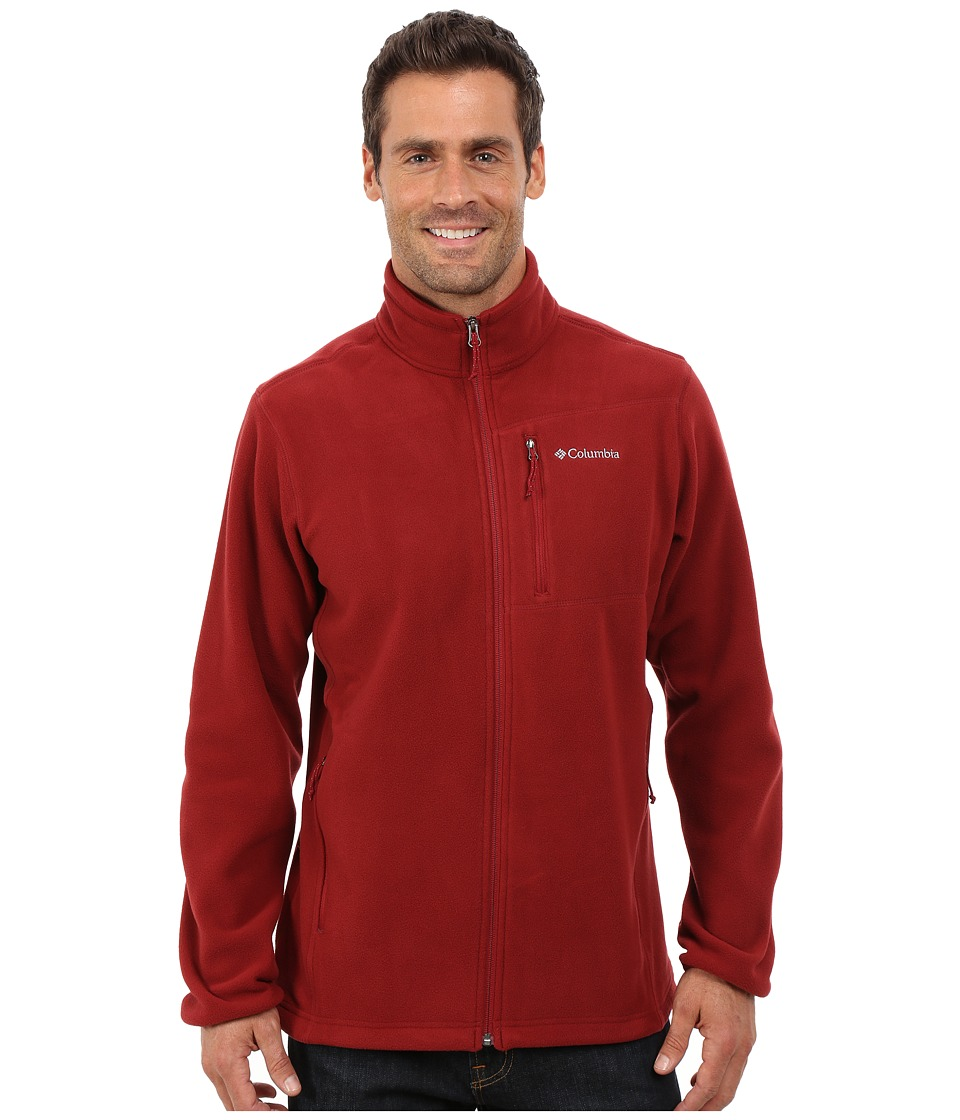Columbia - Cascades Explorer Full Zip Fleece (Red Element) Men's Coat