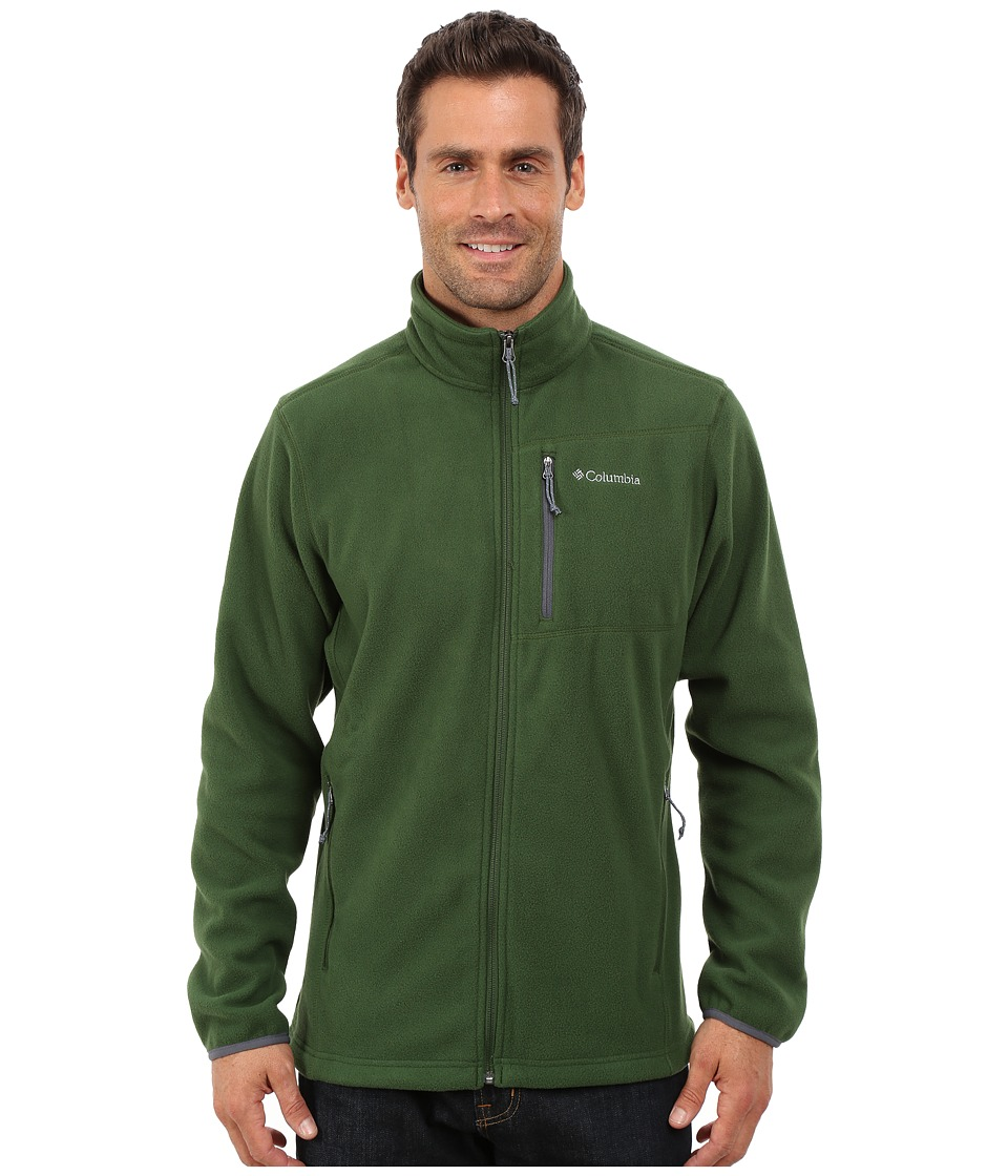 Columbia - Cascades Explorer Full Zip Fleece (Woodland/Graphite) Men's Coat