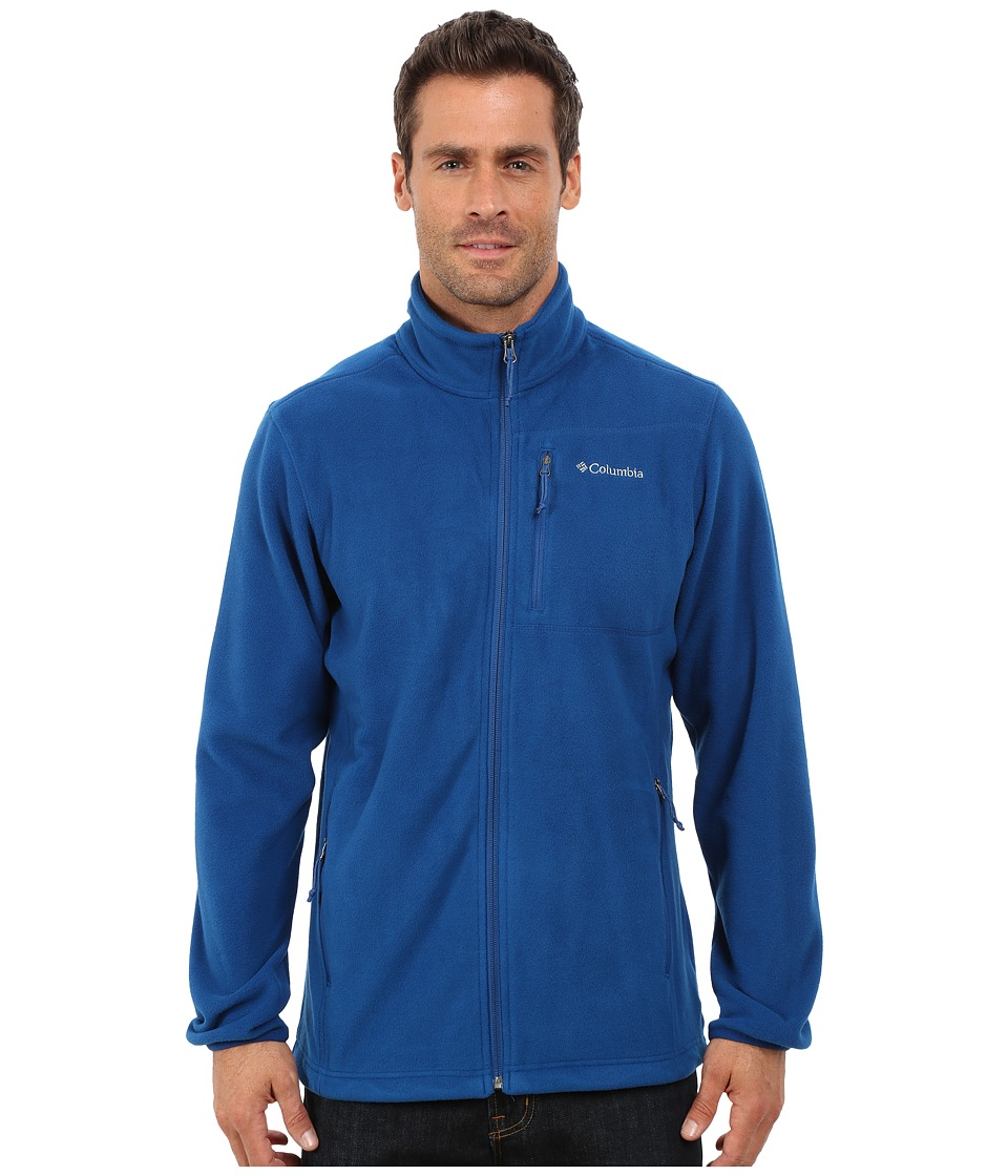 Columbia - Cascades Explorer Full Zip Fleece (Marine Blue) Men's Coat