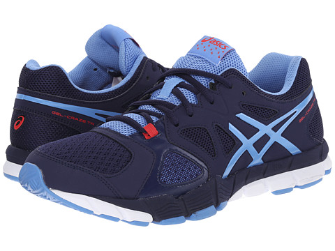 ASICS - GEL-Craze TR 2 (Navy/Periwinkle/Red) Women's Shoes