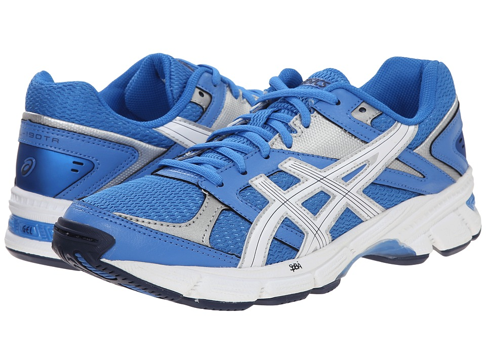 ASICS - GEL-190 TR (Light Blue/White/Silver) Women's Cross Training Shoes