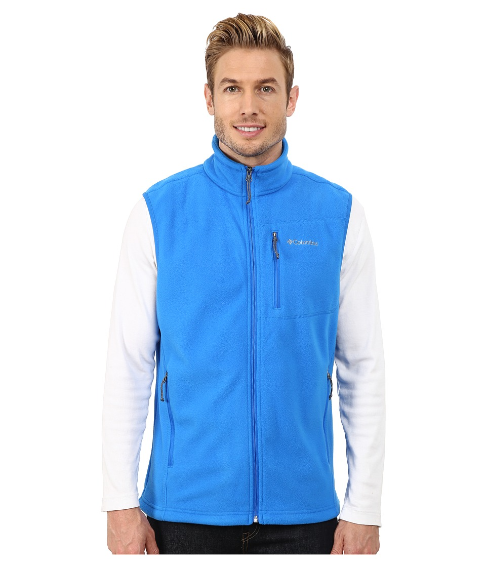 Columbia - Cascades Explorer Fleece Vest (Hyper Blue) Men's Vest