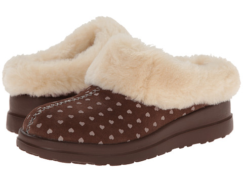 UGG - Dreams (Moonstruck Hearts Suede) Women's Slippers