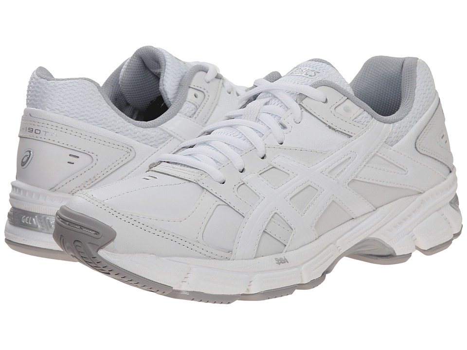 ASICS - GEL-190 TR (White/White/Silver) Women's Cross Training Shoes