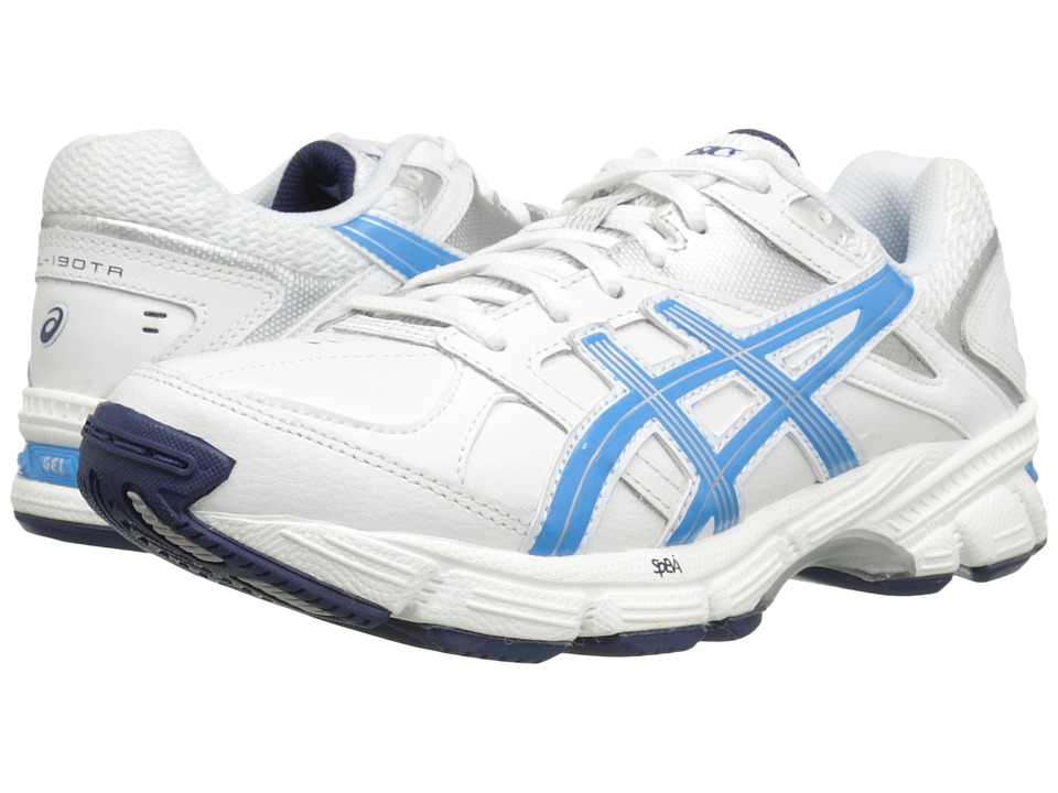 ASICS - GEL-190 TR (White/Malibu/Silver) Women's Cross Training Shoes