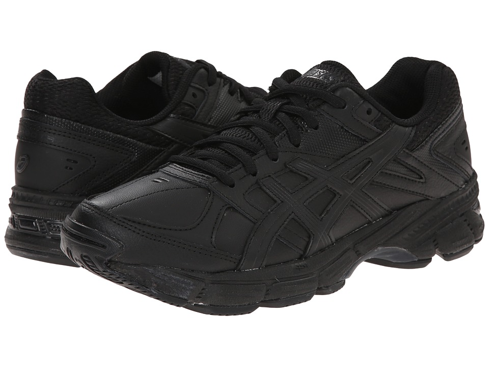 ASICS - GEL-190 TR (Black/Black/Silver) Women's Cross Training Shoes