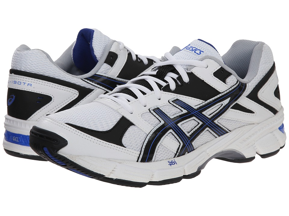 ASICS - GEL-190 TR (White/Navy/Royal) Men's Cross Training Shoes