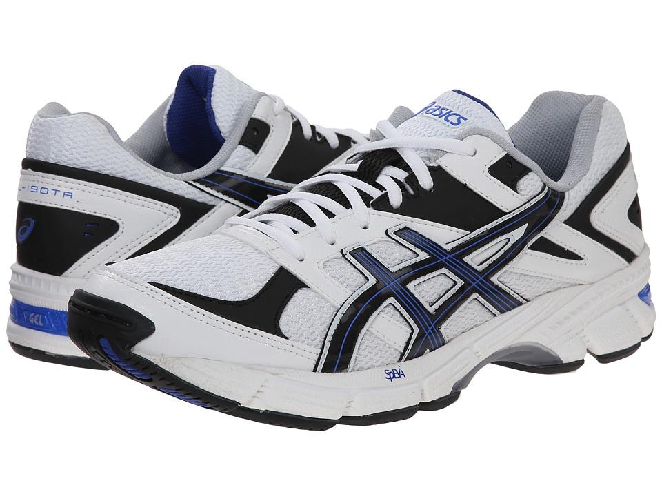 ASICS - GEL-190 TR (White/Navy/Royal) Men's Cross Training Shoes