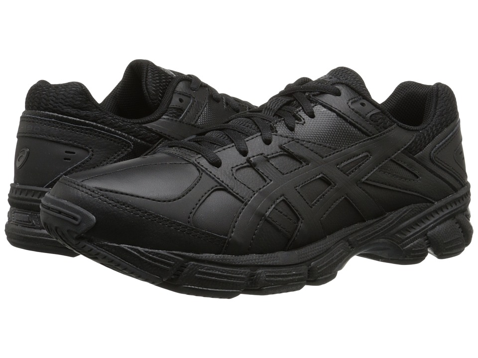 ASICS - GEL-190 TR (Black/Black/Silver) Men's Cross Training Shoes