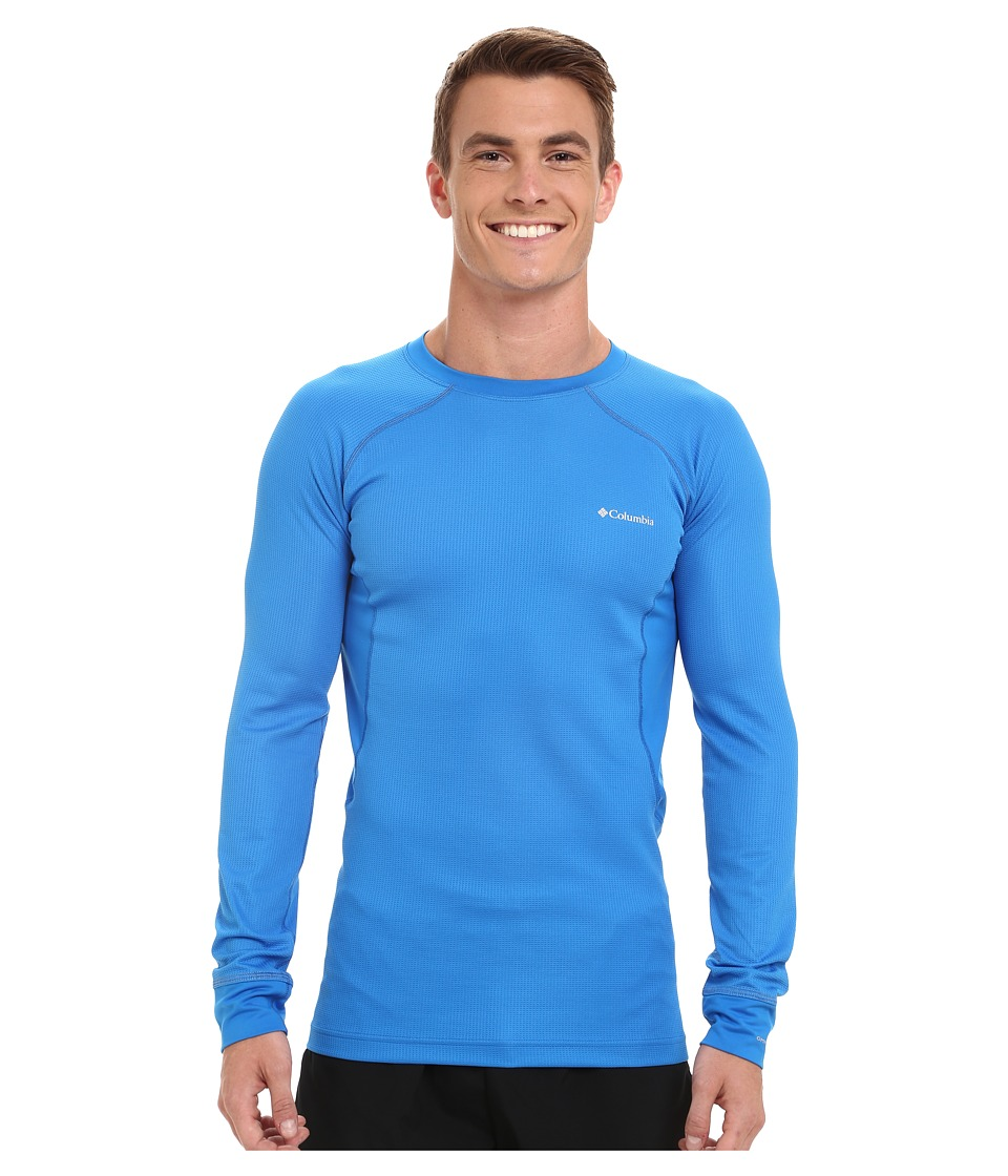 Columbia - Heavyweight II Long Sleeve Top (Hyper Blue/Tradewinds Grey) Men's Long Sleeve Pullover