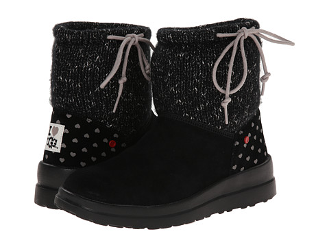 UGG - Knit Slouchy Mini (Black Knit) Women