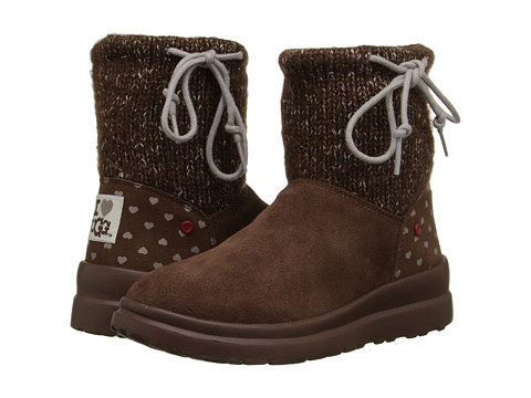 UGG - Knit Slouchy Mini (Chocolate Chip Knit) Women's Boots
