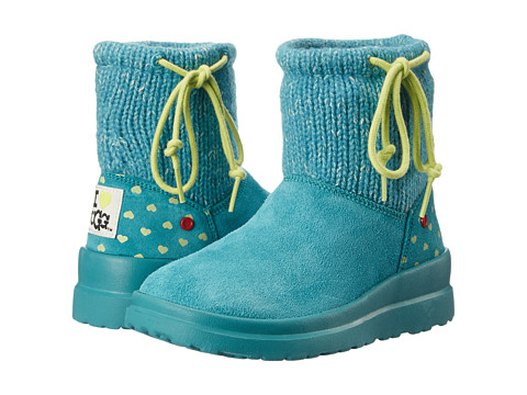 UGG - Knit Slouchy Mini (Tropic Teal Knit) Women