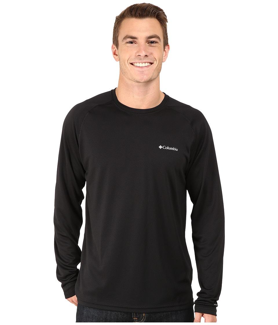 Columbia - Peak Racer Long Sleeve Shirt (Black) Men's Long Sleeve Pullover