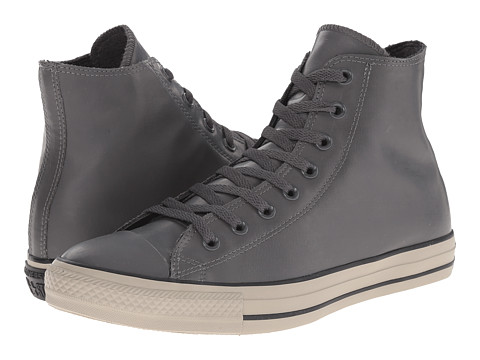 Converse - Chuck Taylor All Star Rubber Hi (Thunder/Black/Papyrus) Classic Shoes