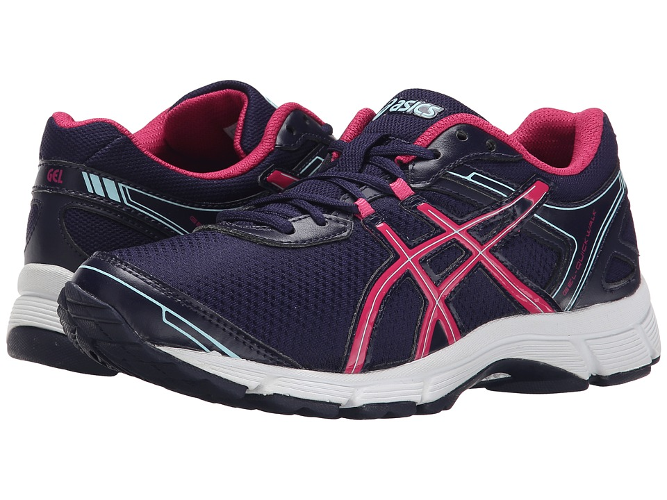 ASICS - GEL-Quickwalk 2 (Navy/Navy/Raspberry) Women's Running Shoes