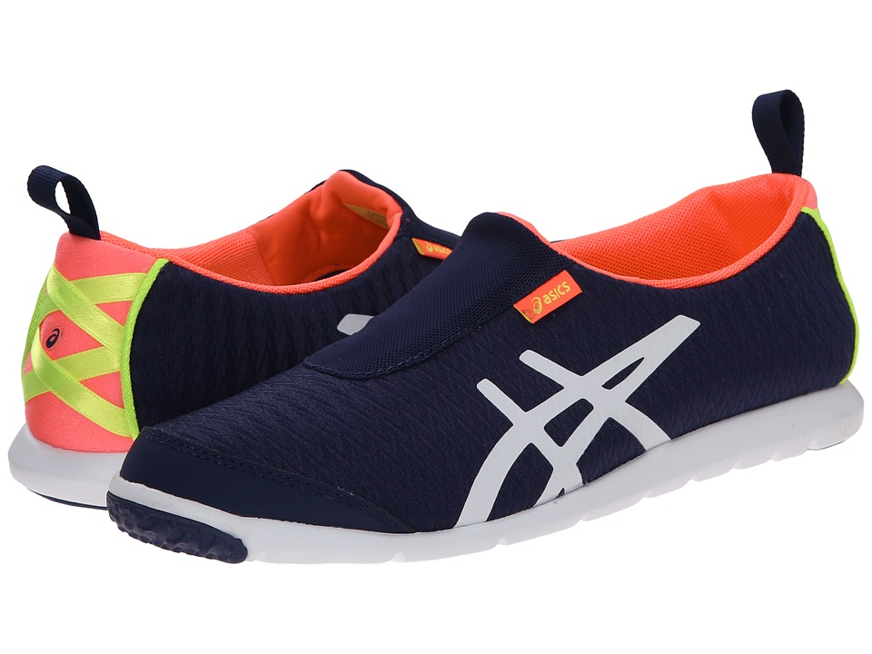 ASICS - Metrolyte 2 Slip-On (Navy/White/Coral) Women's Walking Shoes