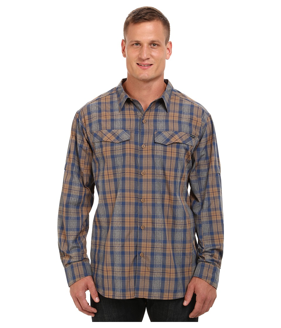 Columbia - Silver Ridge Plaid L/S - Big (Delta Plaid) Men's Long Sleeve Button Up