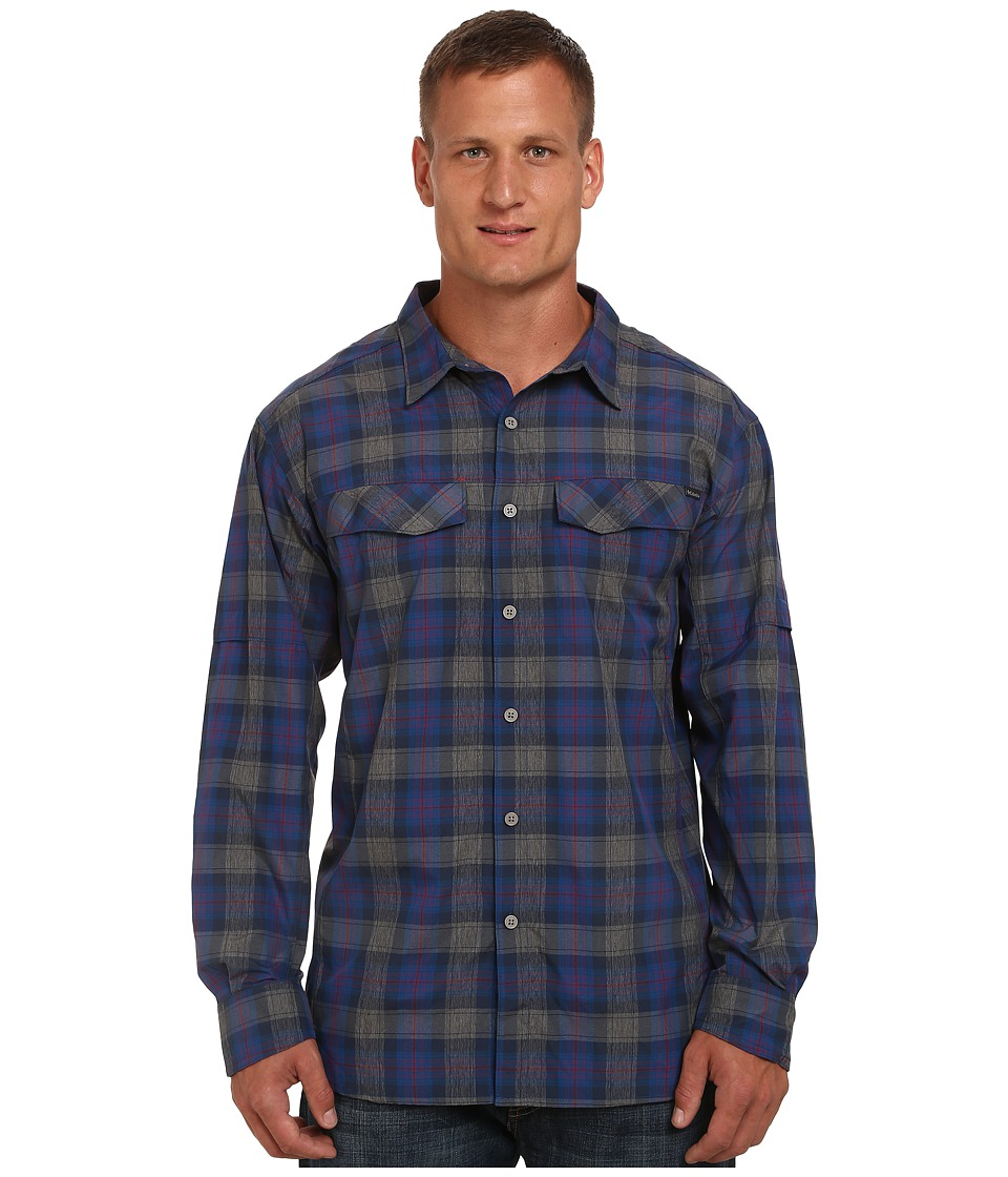 Columbia - Big Tall Silver Ridge Plaid L/S (Rocket Plaid) Men's Long Sleeve Button Up