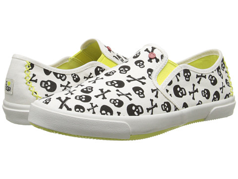 UGG - Slip-On Skulls (Coconut Canvas) Women's Slip on Shoes