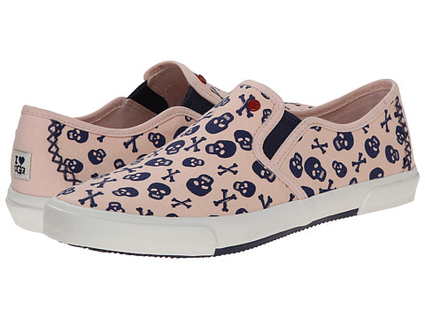 UGG - Slip-On Skulls (Peach Blush Canvas) Women's Slip on Shoes
