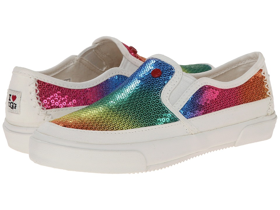 UGG - Slip-On Sparklers (Rainbow Textile) Women's Slip on Shoes