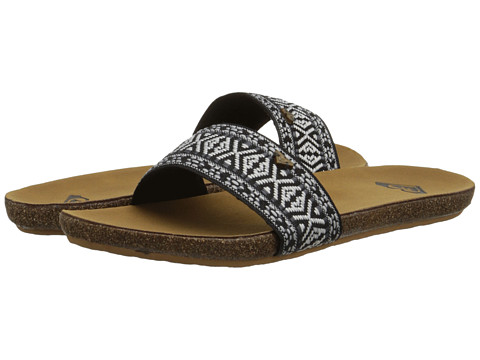 Roxy - Pillar (Black) Women's Sandals