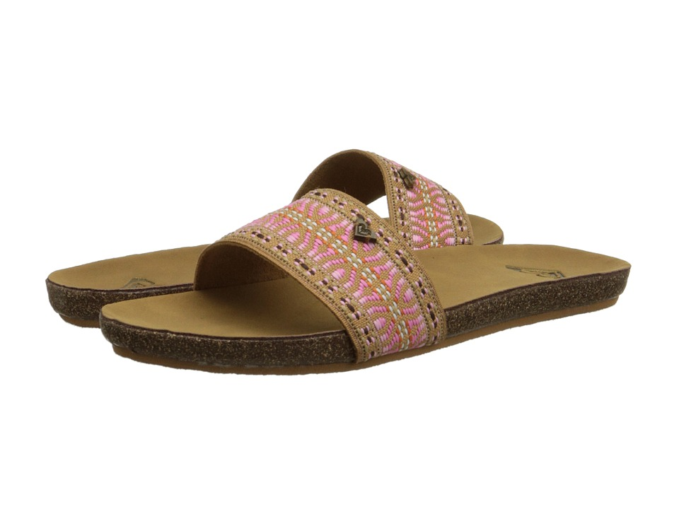 Roxy - Pillar (Tan) Women's Sandals