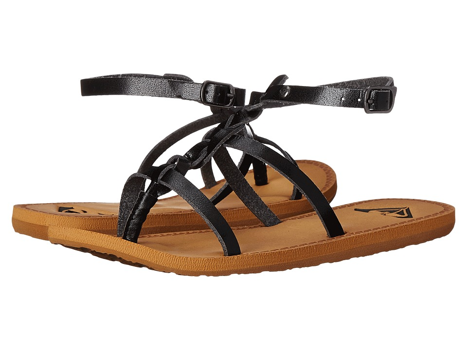 Roxy - Crete (Black) Women's Sandals