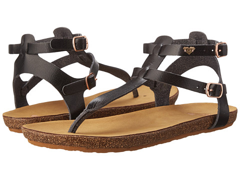 Roxy - Cedros (Black) Women's Sandals