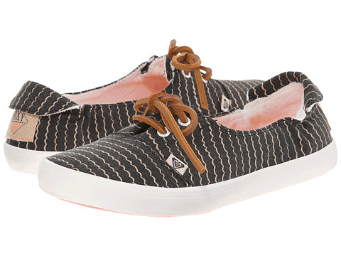 Roxy - Kayak (Dark Grey) Women's Slip on Shoes