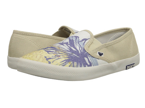 Roxy - Redondo II (Off White) Women's Slip on Shoes