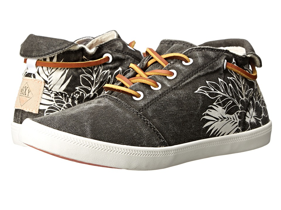 Roxy - Encinitas (Dark Grey) Women's Lace up casual Shoes