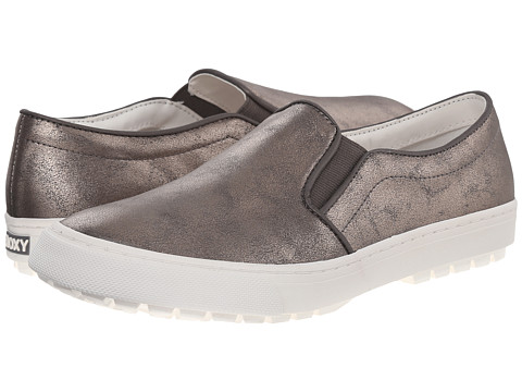 Roxy - Juno (Gunmetal) Women's Slip on Shoes
