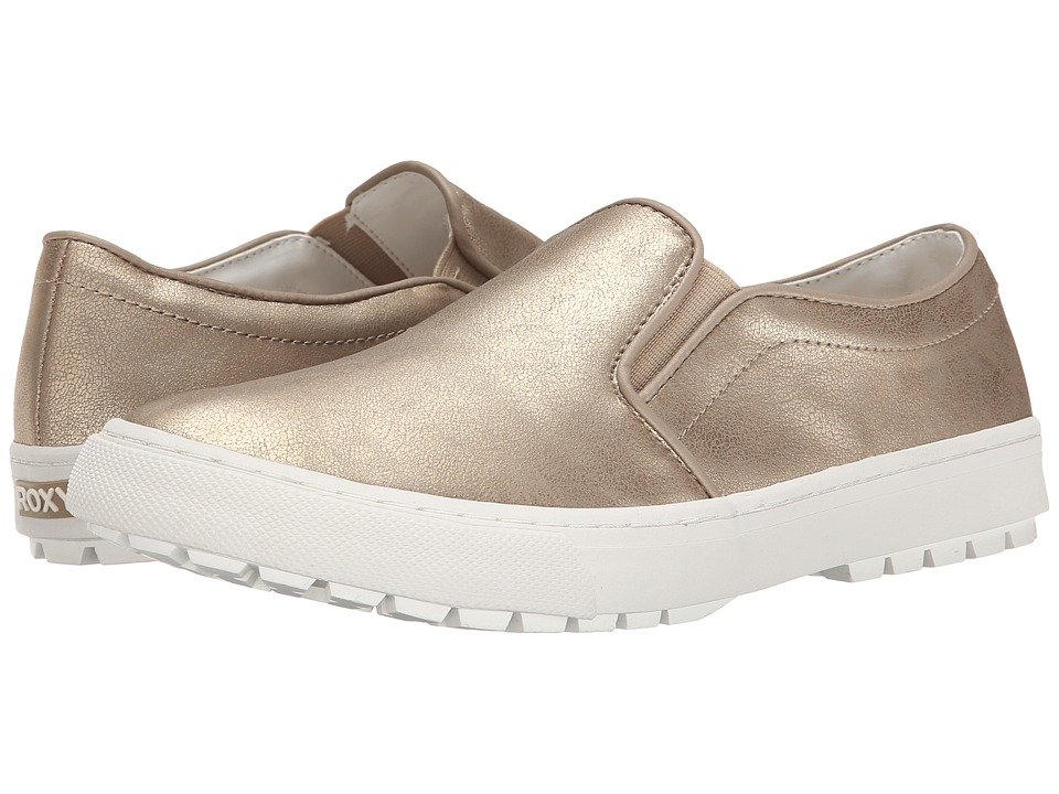 Roxy - Juno (Gold) Women's Slip on Shoes