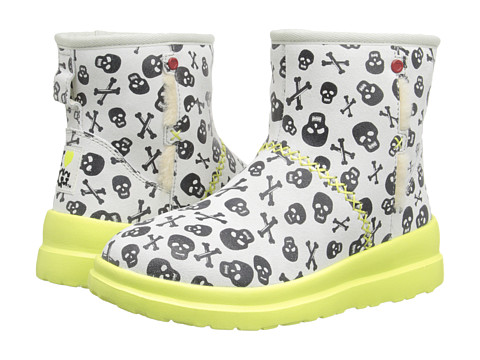 UGG - Kisses Mini Skulls (Coconut Suede) Women's Pull-on Boots