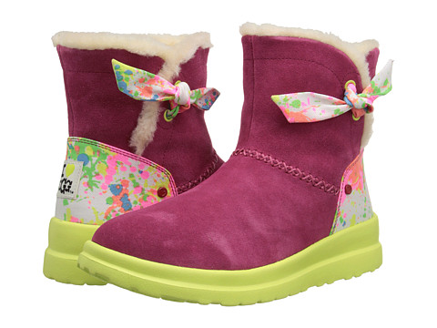 I Heart UGG - Knotty Paint Splatter (Punch Suede) Women's Boots