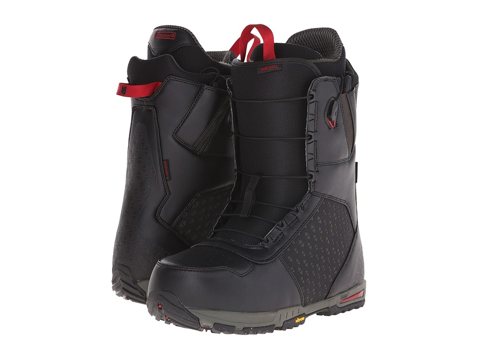 Burton - Imperial EST '16 (Black/Green/Red) Men's Cold Weather Boots