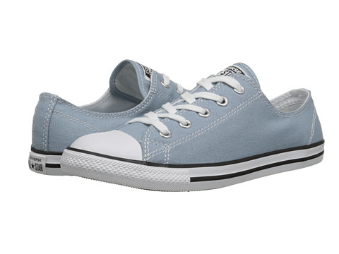 Converse - Chuck Taylor All Star Dainty Seasonal Color Ox (Skye Haze/White/Black) Women's Shoes