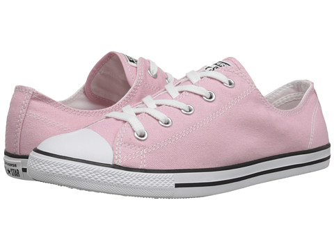 Converse - Chuck Taylor All Star Dainty Seasonal Color Ox (Pink Freeze/White/Black) Women's Shoes