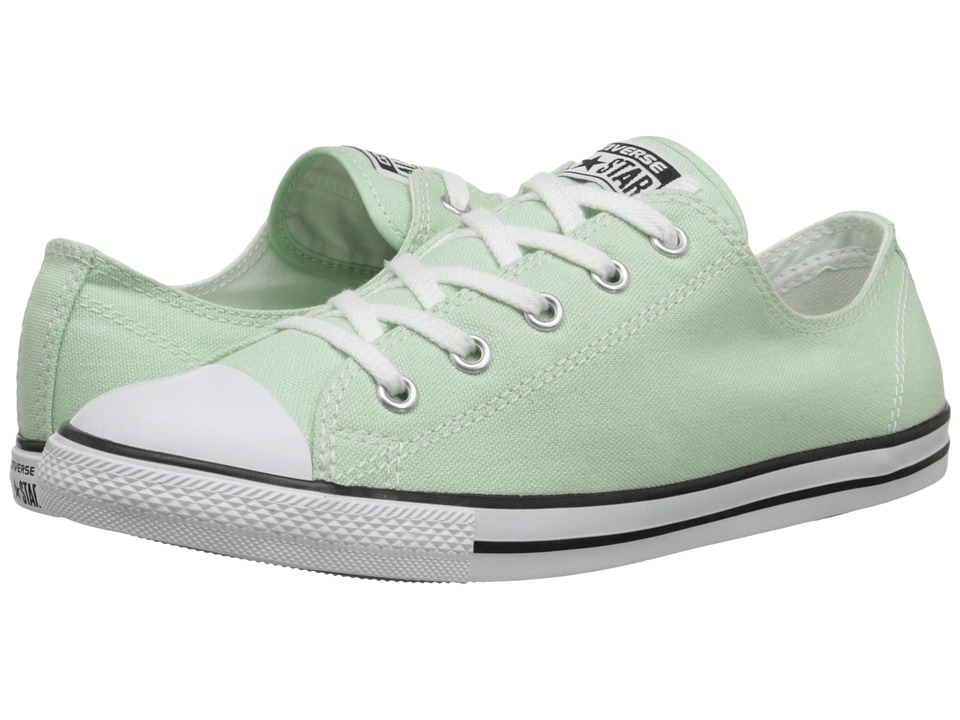 Converse - Chuck Taylor All Star Dainty Seasonal Color Ox (Mint Julep/White/Black) Women's Shoes