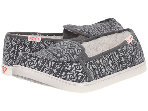 Roxy - Lido Wool III (Charcoal) Women's Slip on Shoes