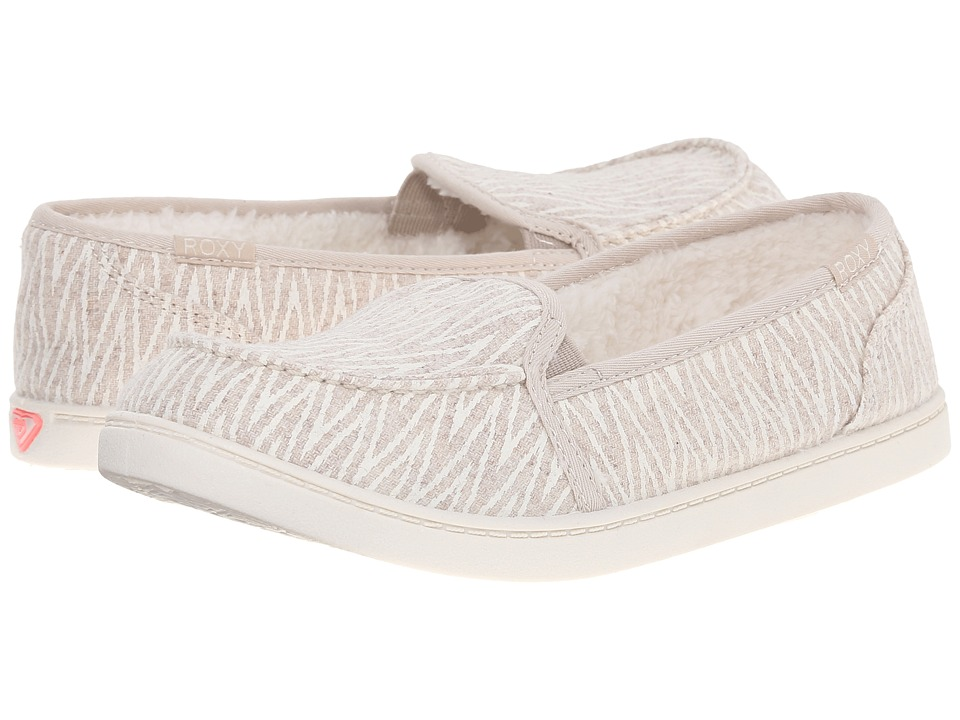 Roxy - Lido Wool III (Oatmeal) Women's Slip on Shoes