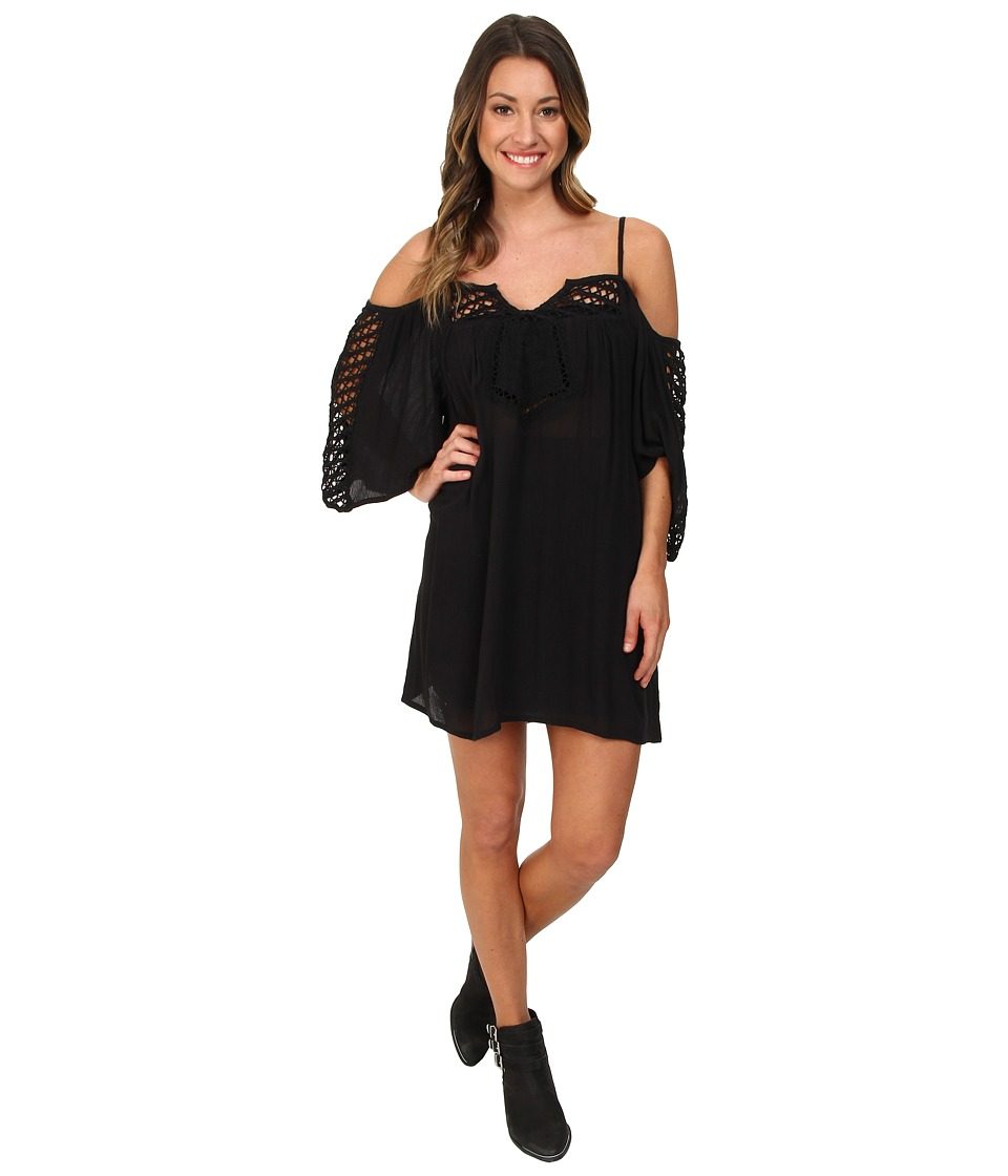 Amuse Society - Lola Dress (Black) Women's Dress