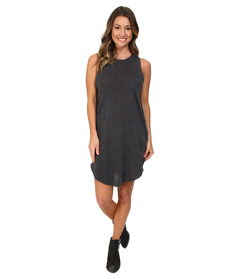 Amuse Society - Elle Dress (Charcoal) Women