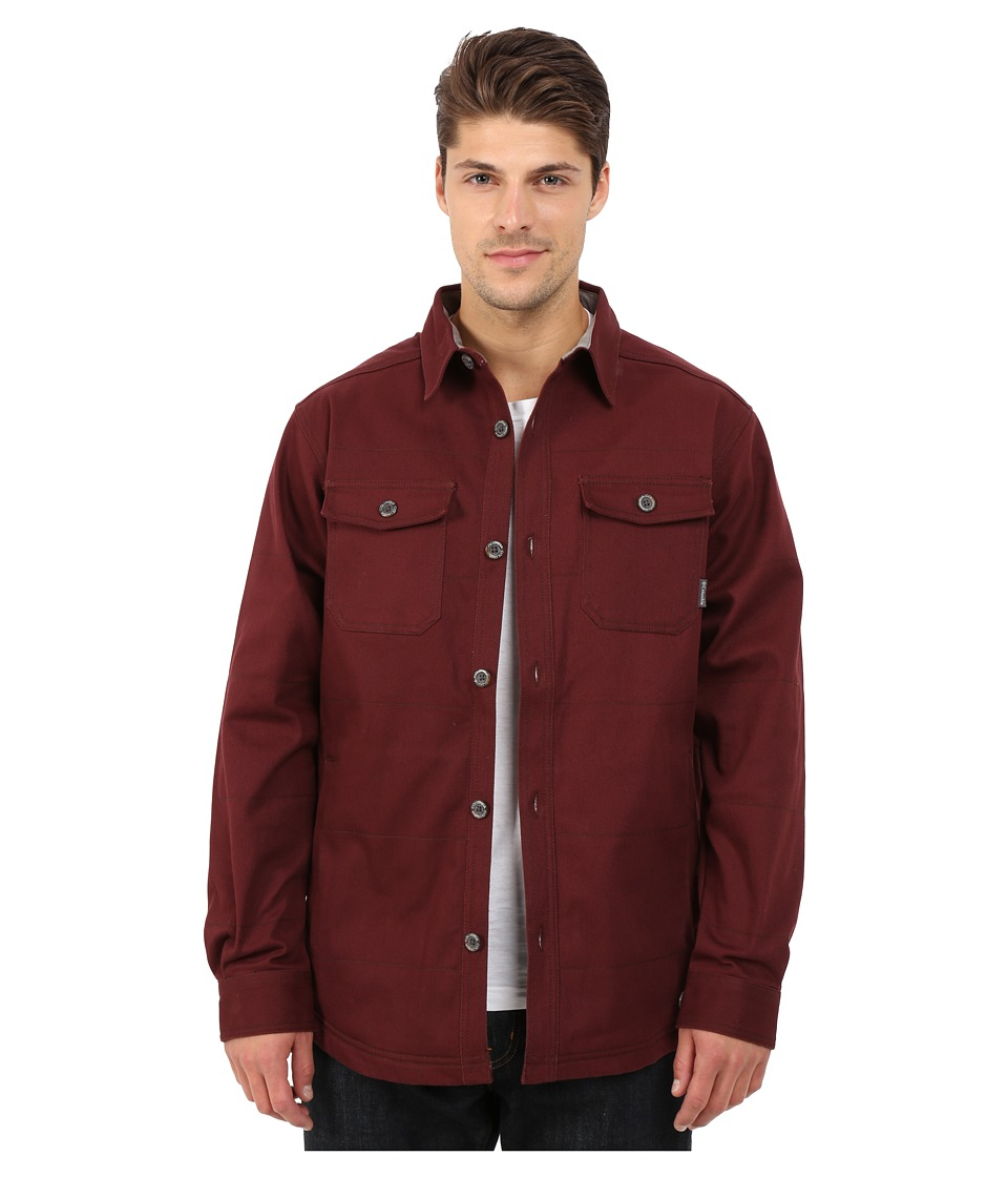 Columbia - Log Splitter Shirt Jacket (Elderberry) Men's Long Sleeve Button Up