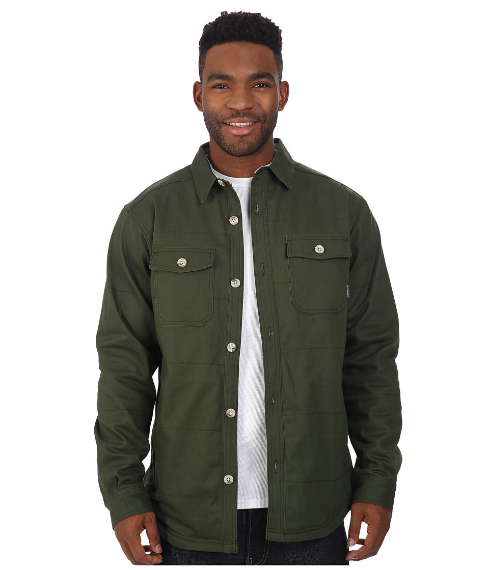 Columbia - Log Splitter Shirt Jacket (Surplus Green) Men's Long Sleeve Button Up